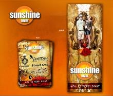 Sunsine plakát-flyer