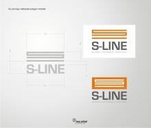 S-Line logo kialakítás