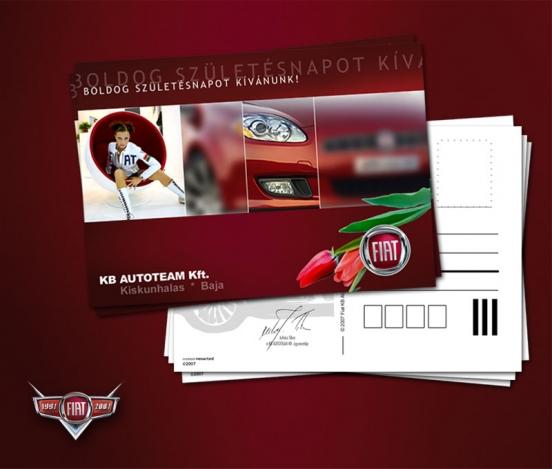 Fiat 10 years print