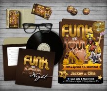 Funk and Soul Night flyer