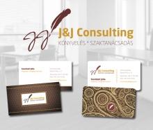J&J Consulting logo tervezet