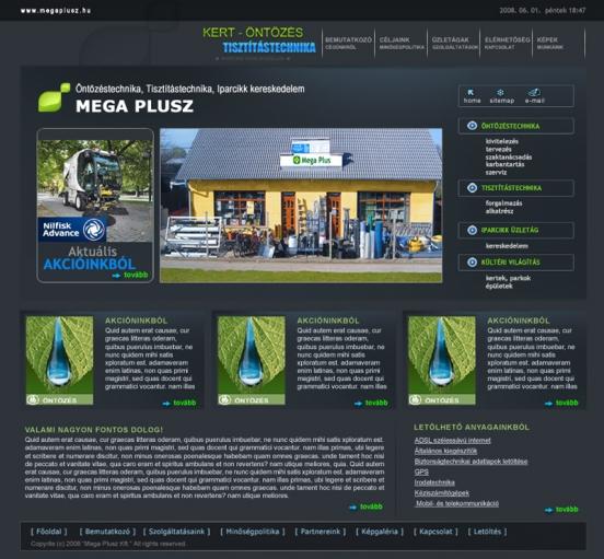 Mega Plussz weblap