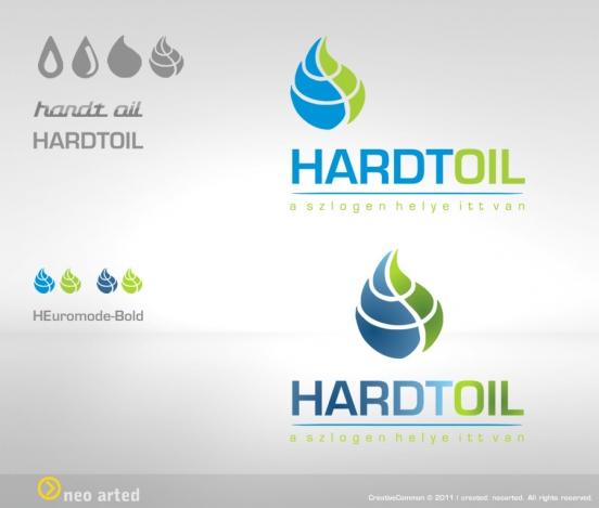 HardtOil Kft. logo tervezet