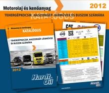 Hardt Oil busz, kamion motorolaj katalógus