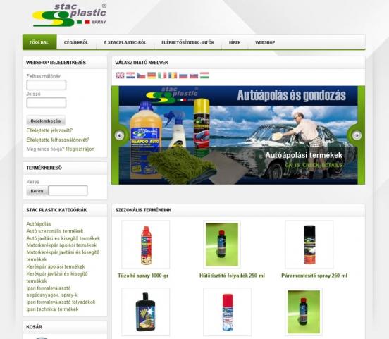 Autokozmetika Stacplastic-kal