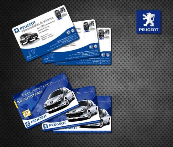 Peugeot card
