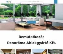 Panoráma Kft. weblap